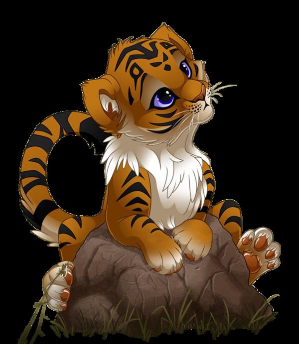 Tigres divers page 3 - Dessin manga animaux ...