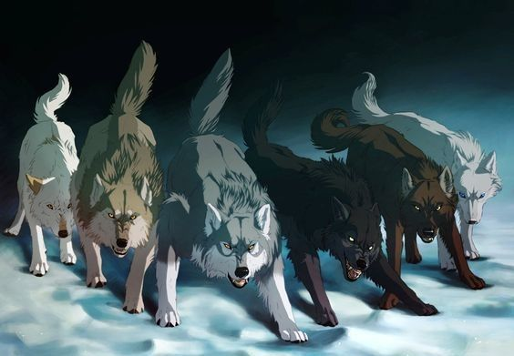 Loups - Download anime wallpaper pack ...