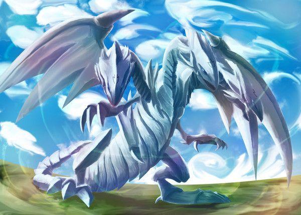 dragon ultime au yeux bleu