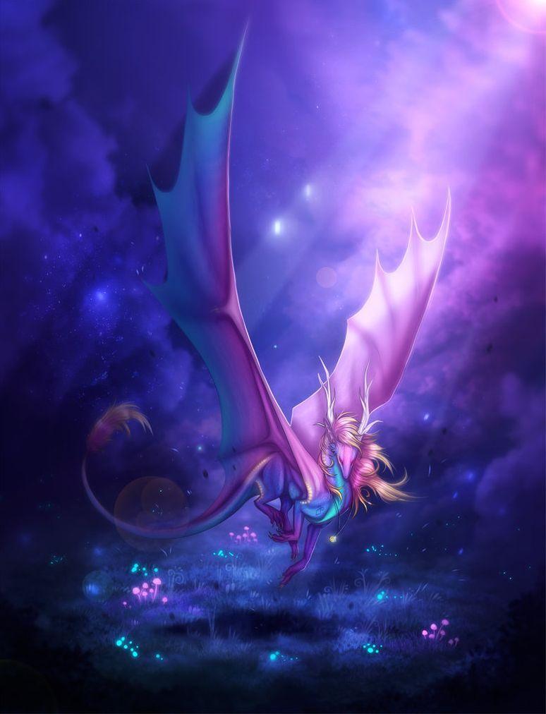 Fantastique dragons arc en ciel - Dragon arc en ciel ...