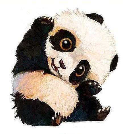 B b panda trop chou - Dessins de panda ...