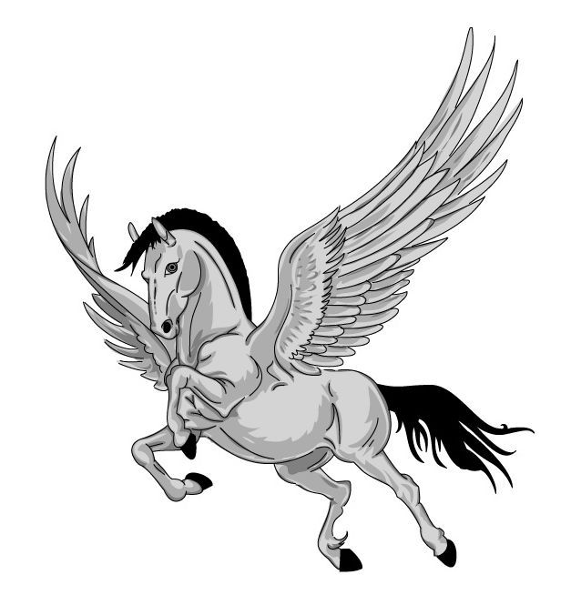 Chevaux ailes page 2 - Dessin de cheval magnifique ...